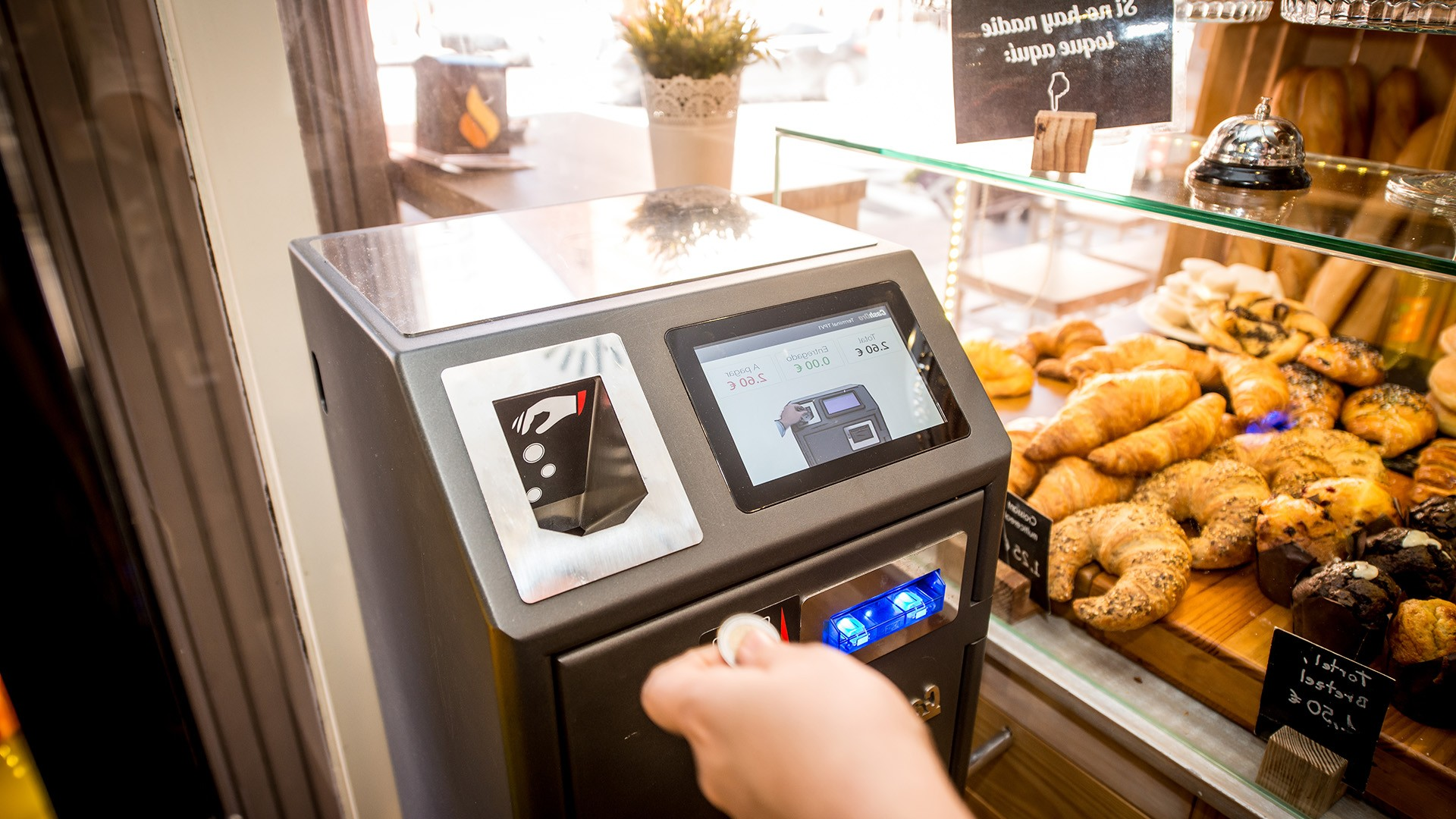Trablisa automatic payment machines